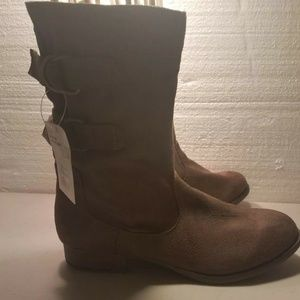 Mossimo Supply Company  Suede Leather Boots